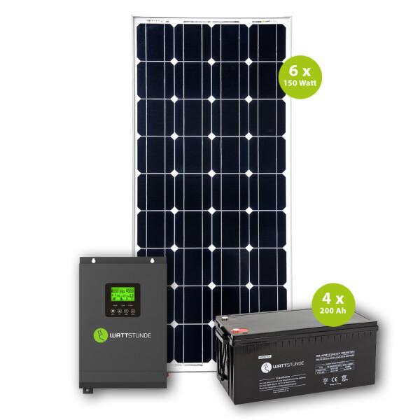 Proautark 900wp 3000ac Solar Komplettpaket 24 V Inselsystem 2 905 98 E